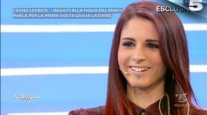 Giulia Latorre da Barbara D'Urso: Anche Tiziano Ferro è gay