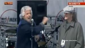 Beppe Grillo: voto a 16 anni. Lavori, paghi tasse,  non voti