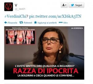 """Laura Boldrini: """"Colonia? Poco rispetto"""". Di M5S disse..."""