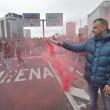 Ilva Genova, operai bloccano autostrada e sopraelevata FOTO 4