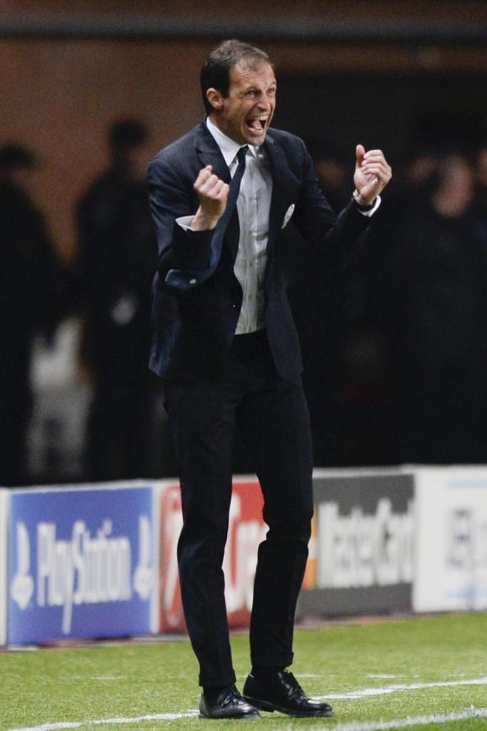 Chievo - Juventus, Allegri nella foto LaPresse