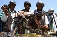 Guerriglieri in Afghanistan