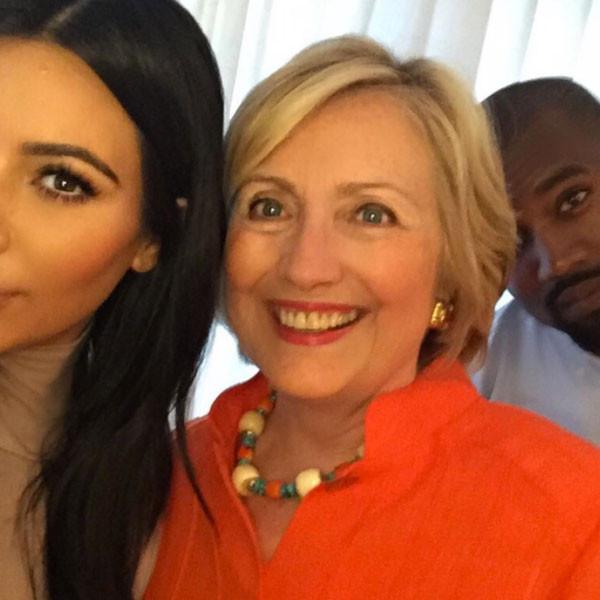 Hillary Clinton svela segreto dei selfie di Kim Kardashian