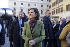 Laura Boldrini: Stepchild adoption diritto. Ira opposizione