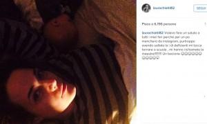 Guarda la versione ingrandita di Laura Chiatti sbaglia post, polemiche: lei lascia Instagram