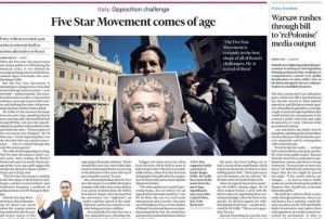 """M5S """"aggiusta"""" Financial Times. Alternativi sì furbetti pure"""