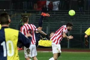 Guarda la versione ingrandita di Maceratese-Lupa Roma Sportube: streaming diretta live (Foto LaPresse - Massimo Paolone)
