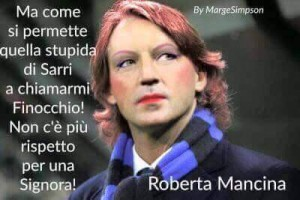 Guarda la versione ingrandita di Sarri-Mancini, dopo Napoli-Inter ironia tifosi sul web FOTO