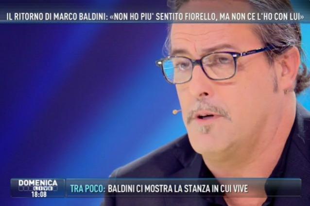 Marco Baldini ospite di Domenica Live