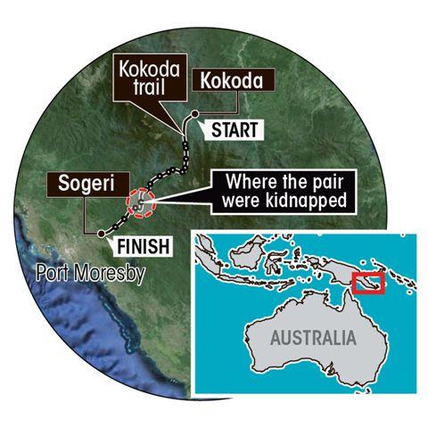 Rapiti da cannibali nella giungla in Papua Nuova Guinea 05