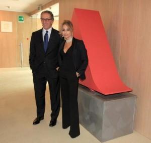 Guarda la versione ingrandita di Ernesto Mauri 8amministratore) e Marina Berlusconi (presidente): quando la Mondadori comprerà la Rizzoli libri, il loro potere nella editoria libraria italiaana sarà assoluto