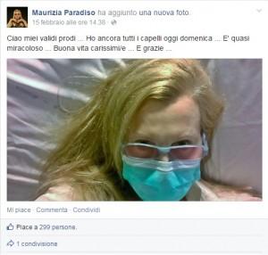 Maurizia Paradiso, nuovo malore: ricovero d'urgenza