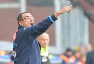 Maurizio Sarri, mini squalifica: 2 turni in Coppa Italia