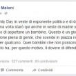 """Giorgia Meloni al Family Day: """"Aspetto un bambino"""""""