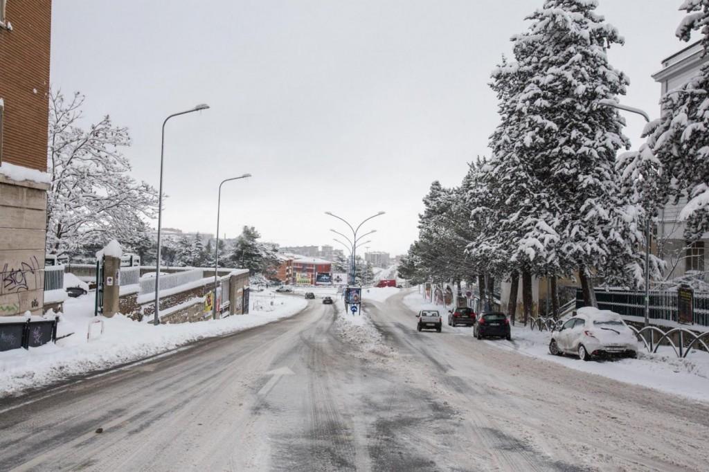 Meteo: neve, vento, gelo tutta settimana, soprattutto al Sud10
