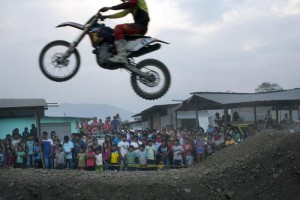 Guarda la versione ingrandita di Enrico Bertazzoni muore durante motocross mentre prova moto (foto di repertorio Ansa)