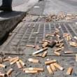 Mozziconi sigarette per terra: dal 2/02 multe come New York