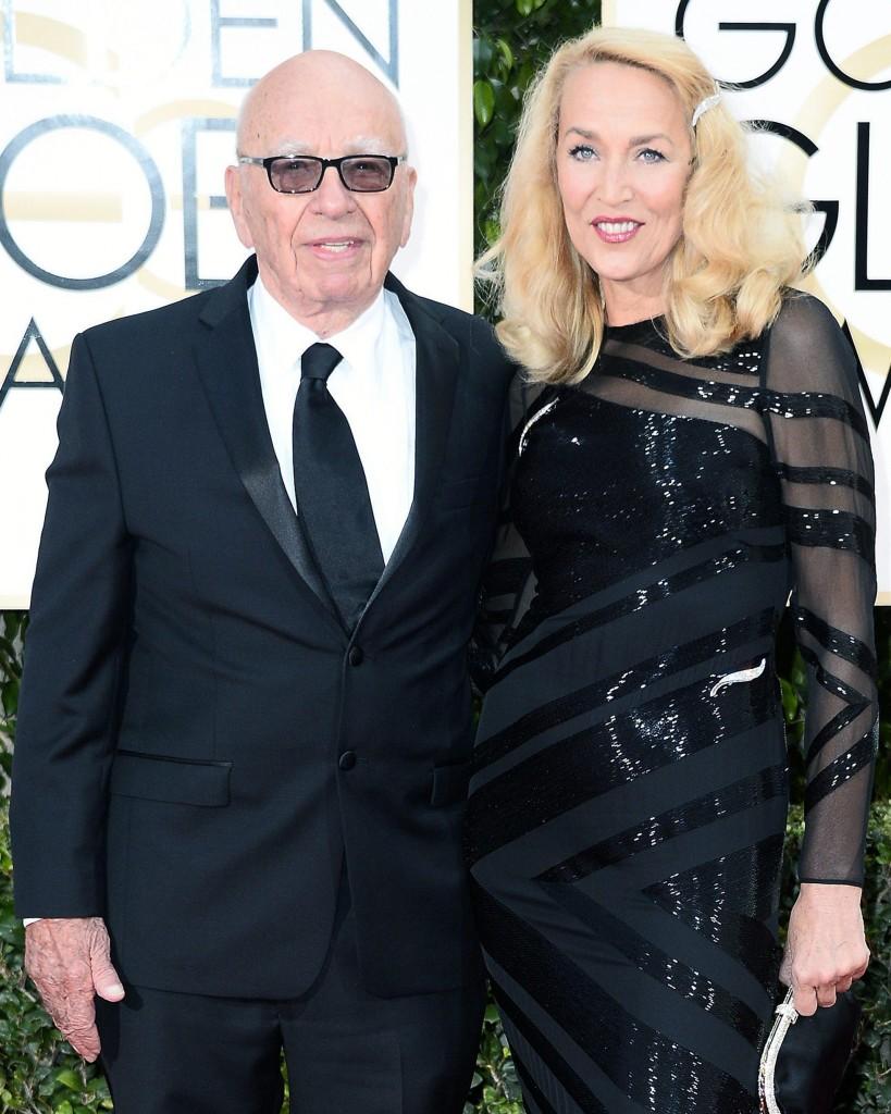 Rupert Murdoch annuncia fidanzamento con Jerry Hall FOTO 3