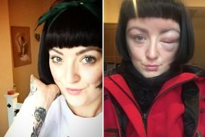 Guarda la versione ingrandita di Natalie Ross usa tinta per capelli e...
