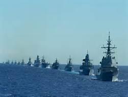 Guarda la versione ingrandita di Esercitazione navale Nato