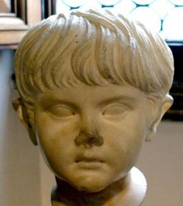 Guarda la versione ingrandita di Nerone bambino