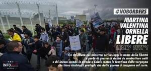 Guarda la versione ingrandita di Calais, tre italiane arrestate: manifestavano per i migranti