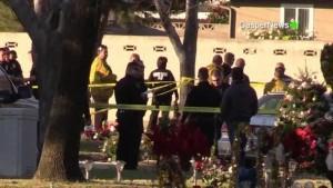 Usa: omicidio-suicidio in cimitero California, tre morti
