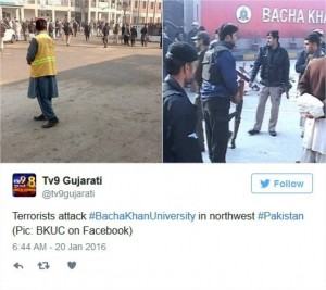 Guarda la versione ingrandita di YOUTUBE Pakistan, strage università: commando fa 20 morti