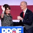"YOUTUBE Usa 2016, Sarah Palin: ""Sto con Donald Trump"""