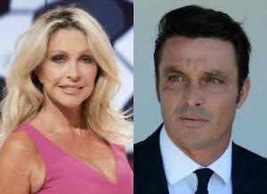"""Paola Ferrari """"ci prova"""" con Massimo Oddo in diretta tv"""