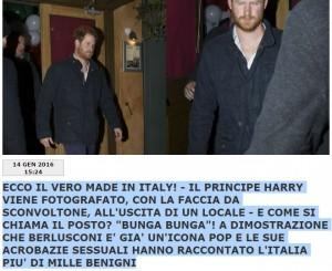 "Principe Harry esce dal Bunga Bunga ""sconvolto""...FOTO"