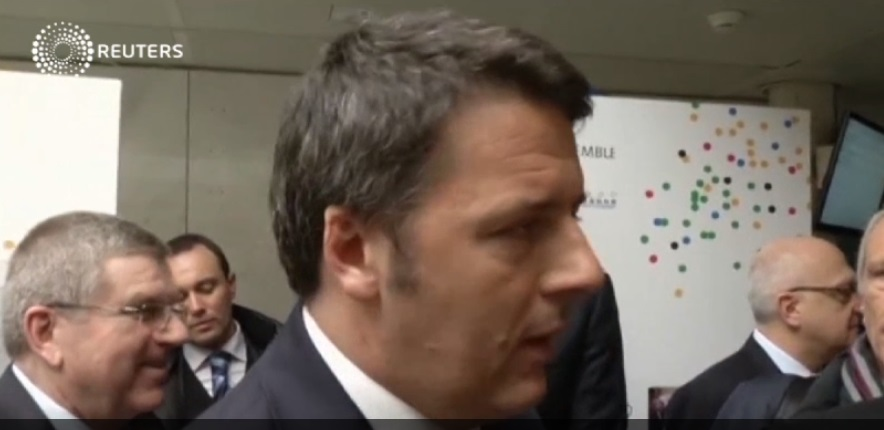 """""""This is time of Rome"""". Renzi e l'inglese"""