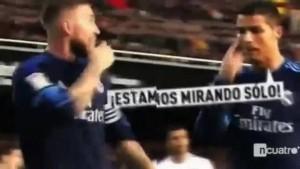 Il litigio tra Cristiano Ronaldo e Sergio Ramos