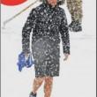 Agnese Landini su sci: Matteo Renzi con calzoni corti