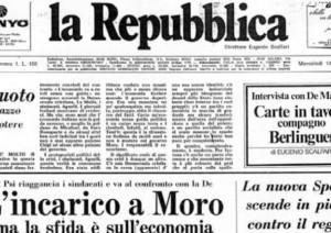 Repubblica festeggia 40 anni, comincia l'era Calabresi