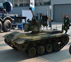 YOUTUBE Siria: robot soldati antimina usati dalla Russia