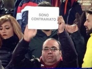 """Rolando Otero, chi è il tifoso della Roma """"contrariato"""""""