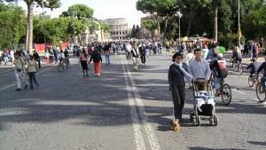 Guarda la versione ingrandita di Roma: domenica 31 stop auto, no targhe alterne 1-2 febbraio