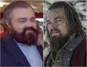 Guarda la versione ingrandita di Leonardo DiCaprio, il sosia russo chiede il test del Dna