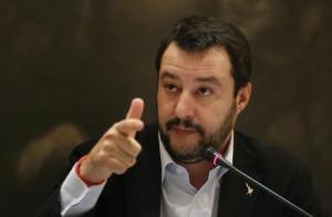 Matteo Salvini (foto Ansa)