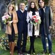Sanremo: Madalina Ghenea, Virginia Raffaele Garko con Conti9