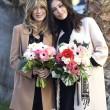 Sanremo: Madalina Ghenea, Virginia Raffaele Garko con Conti4