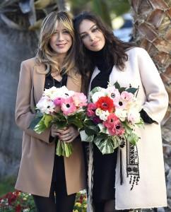 Guarda la versione ingrandita di Sanremo: Madalina Ghenea, Virginia Raffaele Garko con Conti