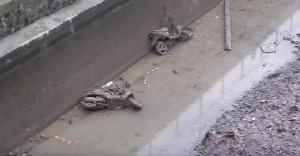Senna, fondali fiume: motorini, gabinetti, bici