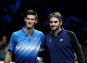 Guarda la versione ingrandita di Djokovic e Federer (LaPresse)