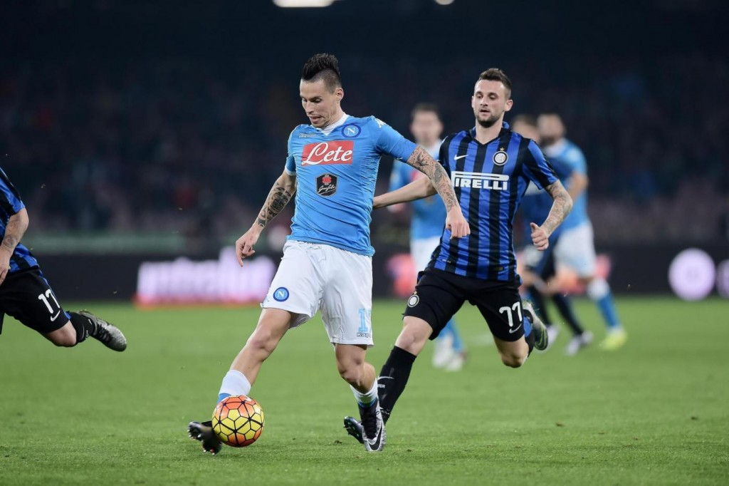 Napoli-Inter Coppa Italia, diretta streaming Rai.tv 07