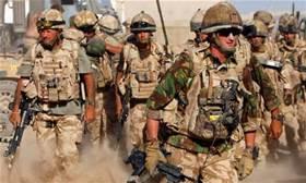 Soldati britannici in Iraq