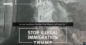 YOUTUBE: spot tv di Trump anti islam e migranti. Con gaffe