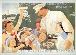 Guarda la versione ingrandita di Stalin, qui nel ruolo di buon padre di tutte le Russie, faceva spiare amicie nemici attraverso l'esame delle feci