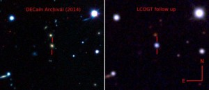 "Supernova ""assassina"": brilla come 570 miliardi di Soli"